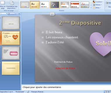 Diapositive ppt